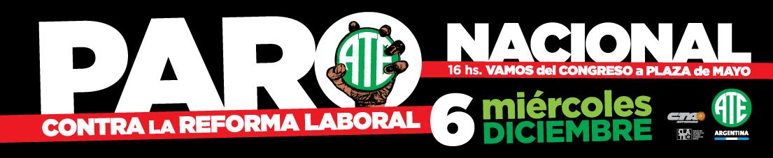 Paro Nacional 6Dic